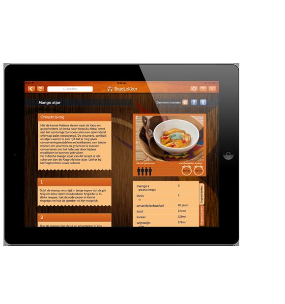 Baie Lekker South African recipe app