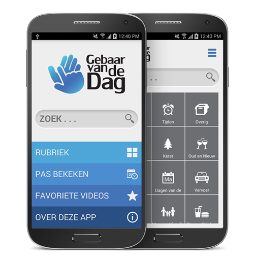 Sign Language Android app for Facebook community